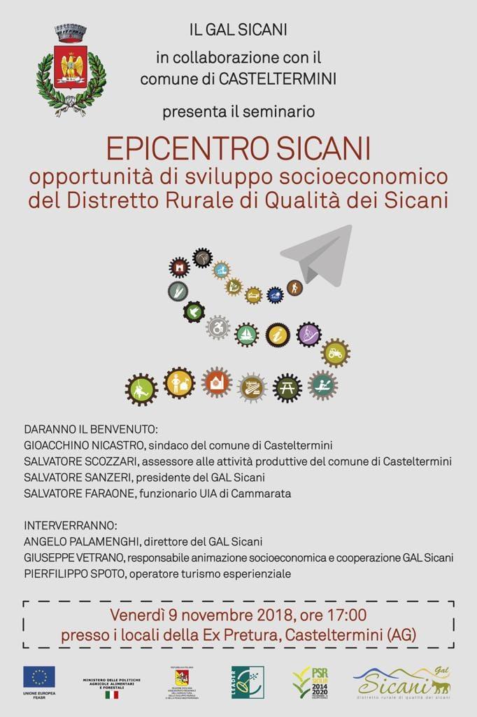 Gal Sicani, Comune di Casteltermini