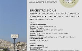 Locandina Cammarata - San Giovanni Gemini